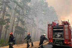 В пожарах на Луганщине пострадали 28 человек