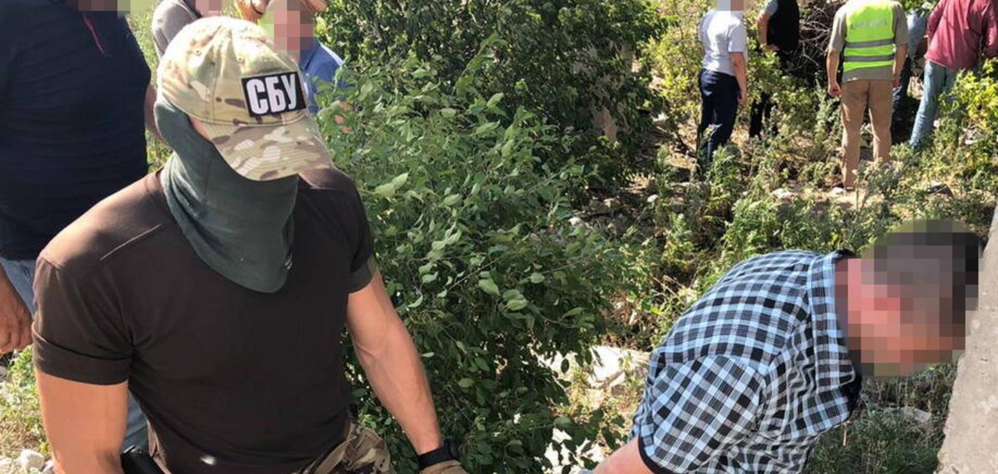 СБУ затримала терориста при спробі диверсії