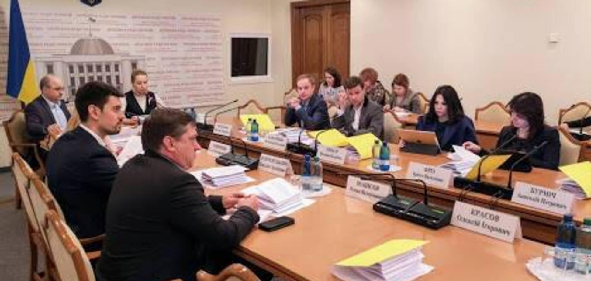 Заседание Комитета по вопросам антикоррупционной политики