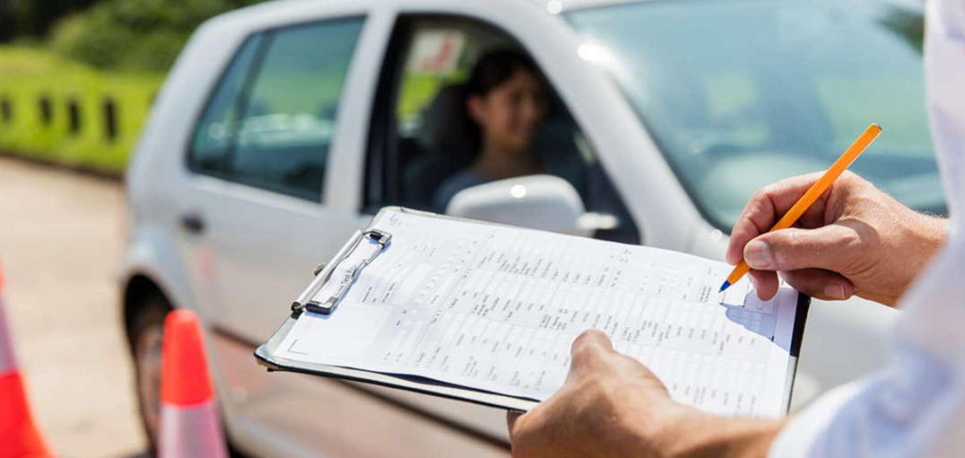 В Украине вступили в силу новые правила получения водительских прав