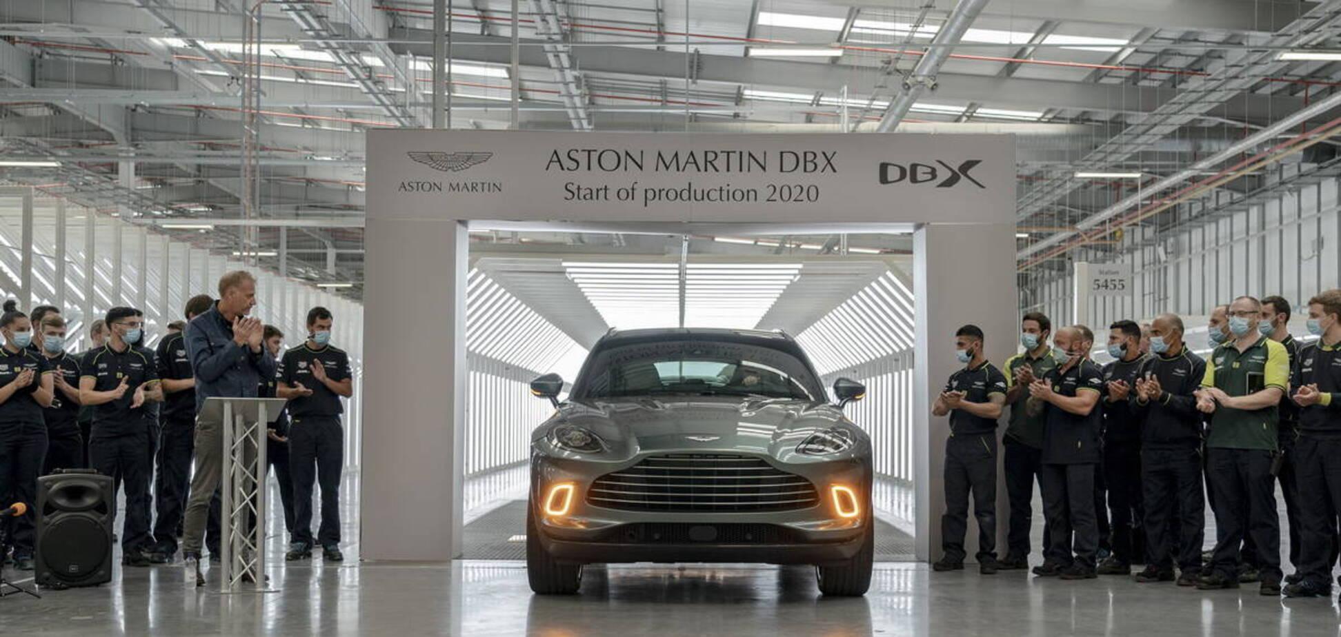 Свершилось: Aston Martin начал выпуск кроссовера DBX