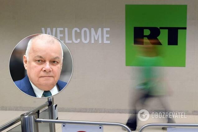 Литва заборонила трансляцію телеканалів RT