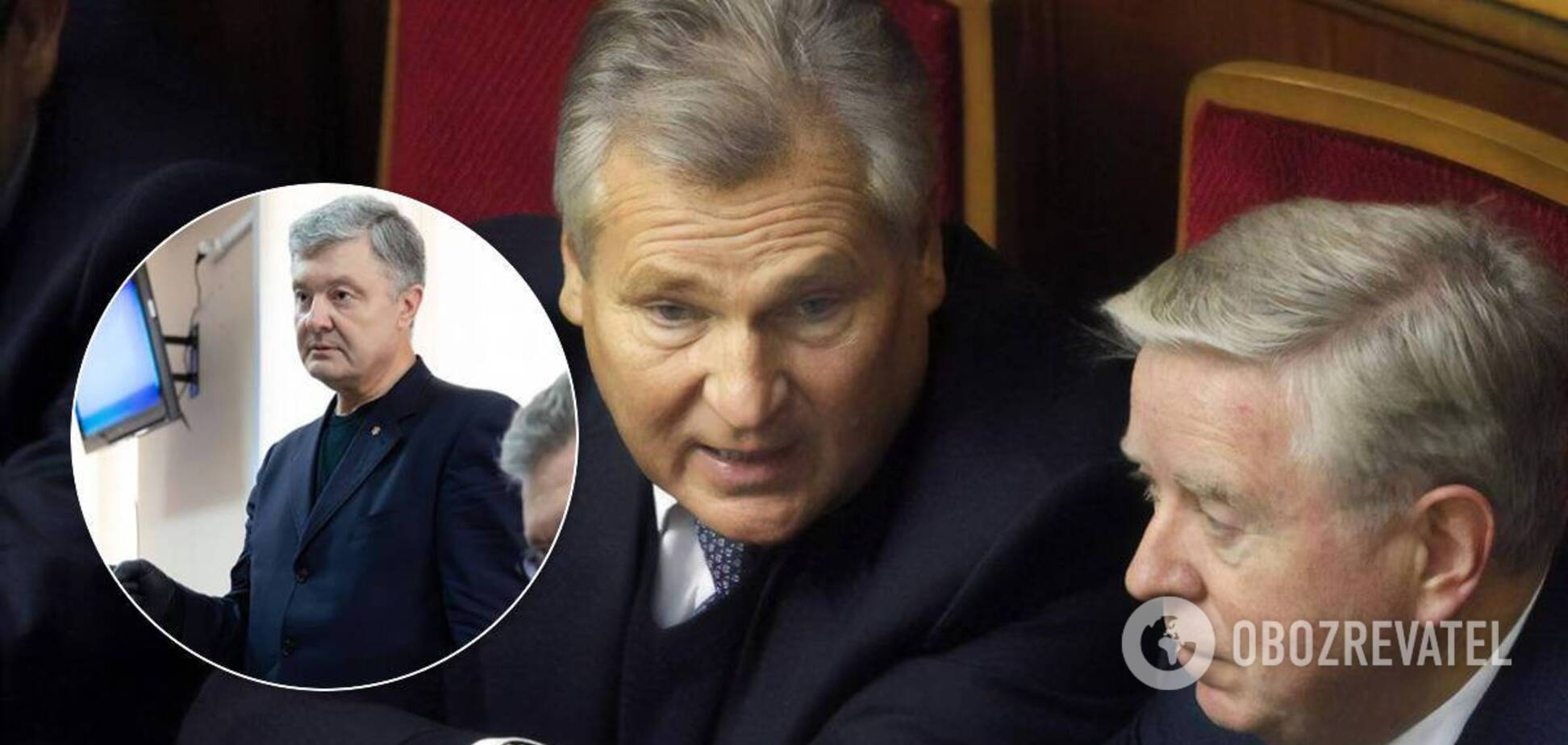 'Дело' против Порошенко требует пристального внимания, решение суда не является точкой, – Кокс и Квасьневский