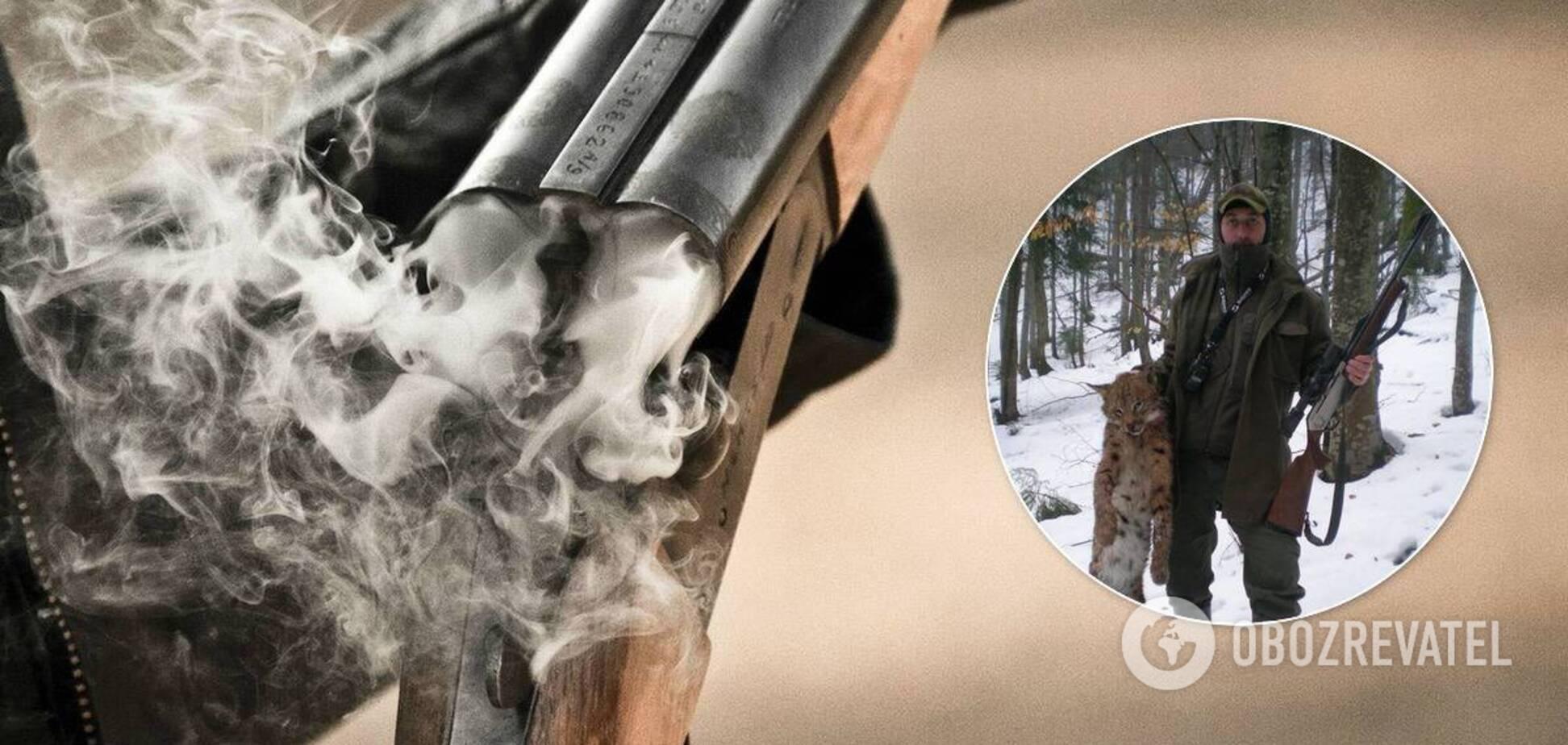 На Закарпатье депутат позировал на охоте и пытается устроиться в лесхоз