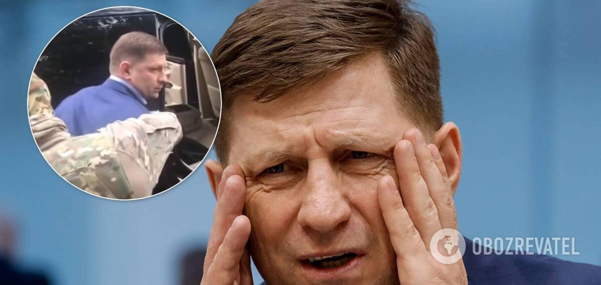 В России задержали губернатора Сергея Фургала