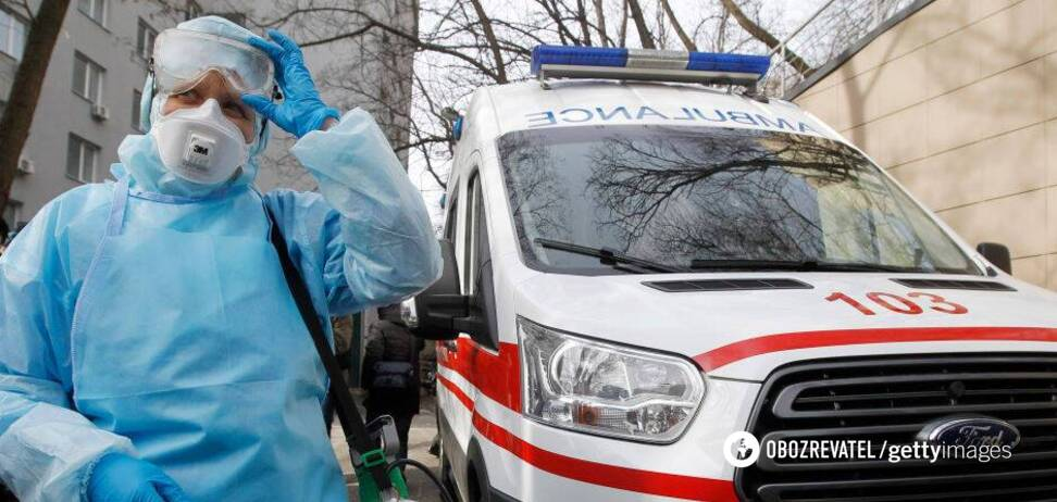 Україна стала лідером за кількістю хворих на COVID-19 у Європі