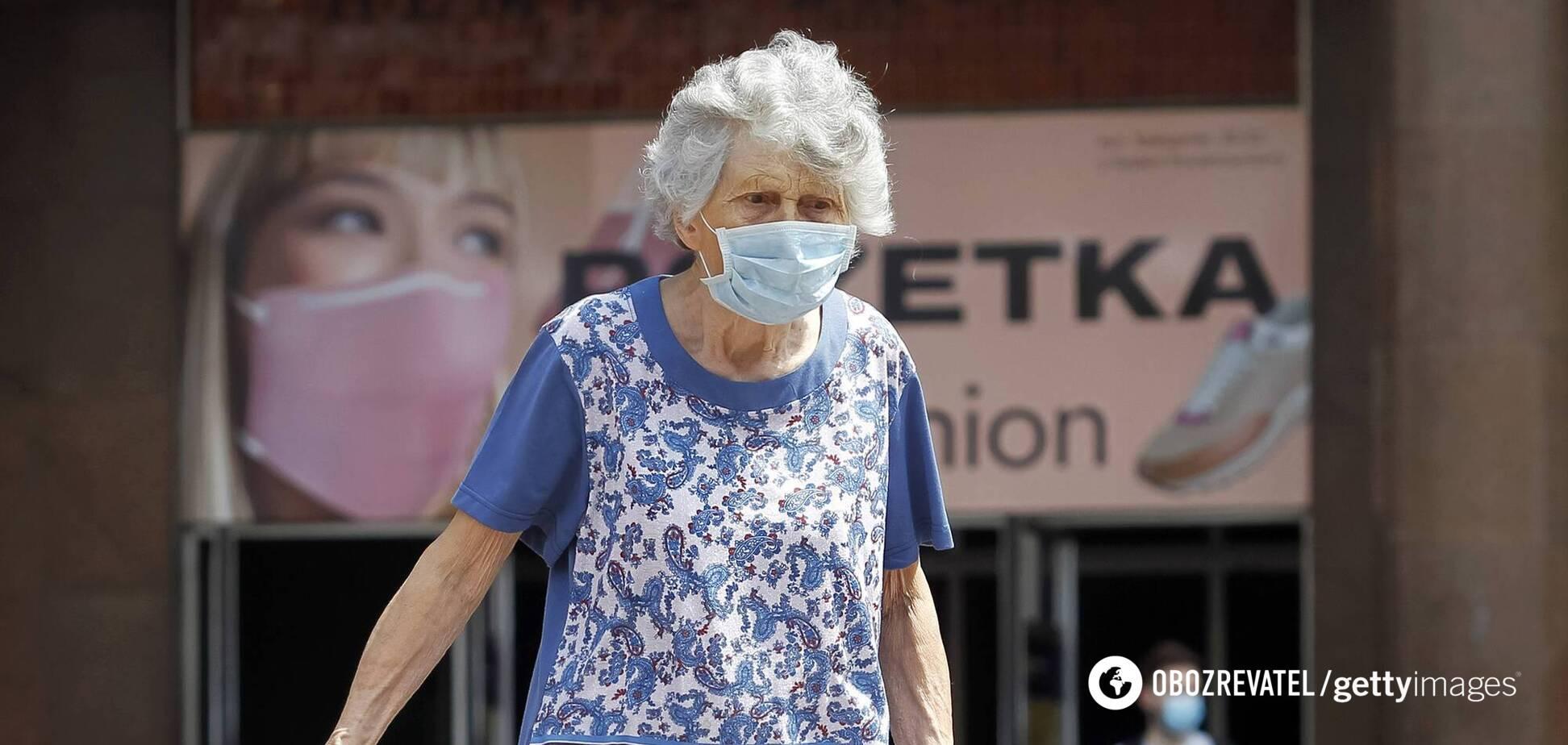 Пожилые люди подвергаются наибольшему риску