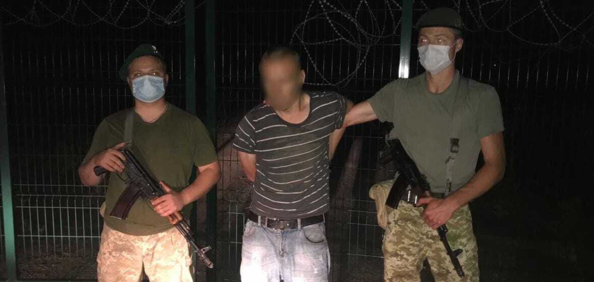 На Харьковщине задержали мужчину при попытке пересечь украинско-российскую границу. Источник: Госпогранслужба Украины