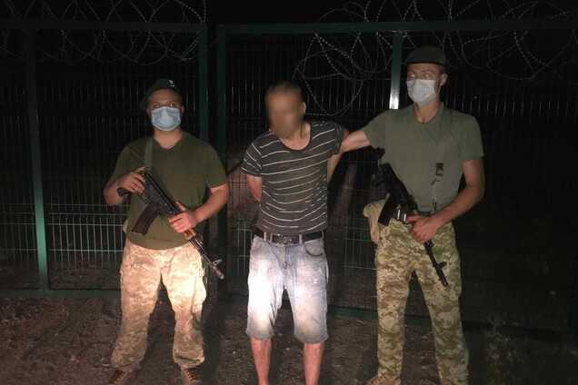 На Харківщині затримали чоловіка при спробі перетнути українсько-російський кордон