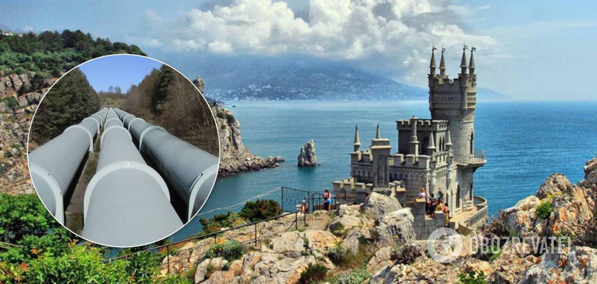 У Криму побудують трубопровід для прісної води