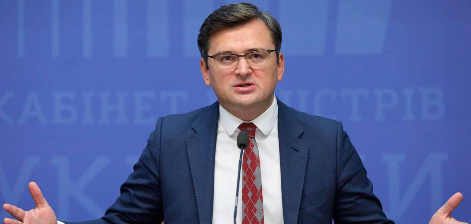 Кулеба назвал вопрос 'прямого диалога' главным в решении конфликта на Донбассе