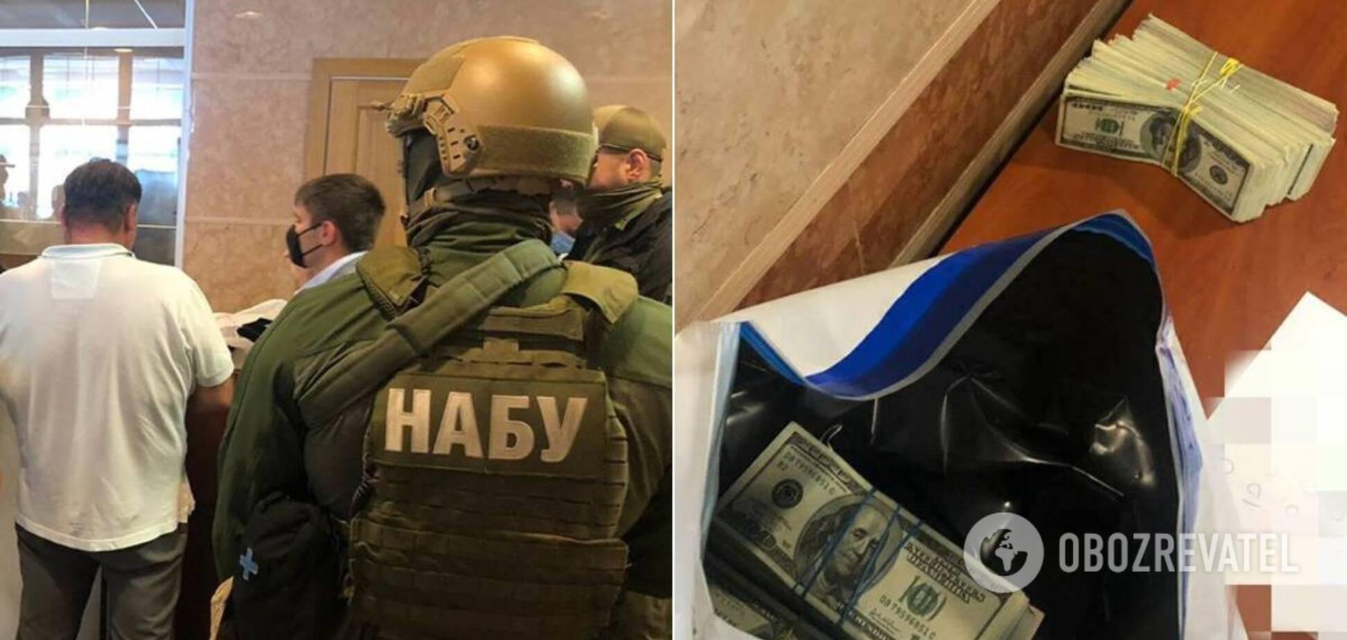 НАБУ затримало чоловіка, який намагався підкупити главу ФДМУ