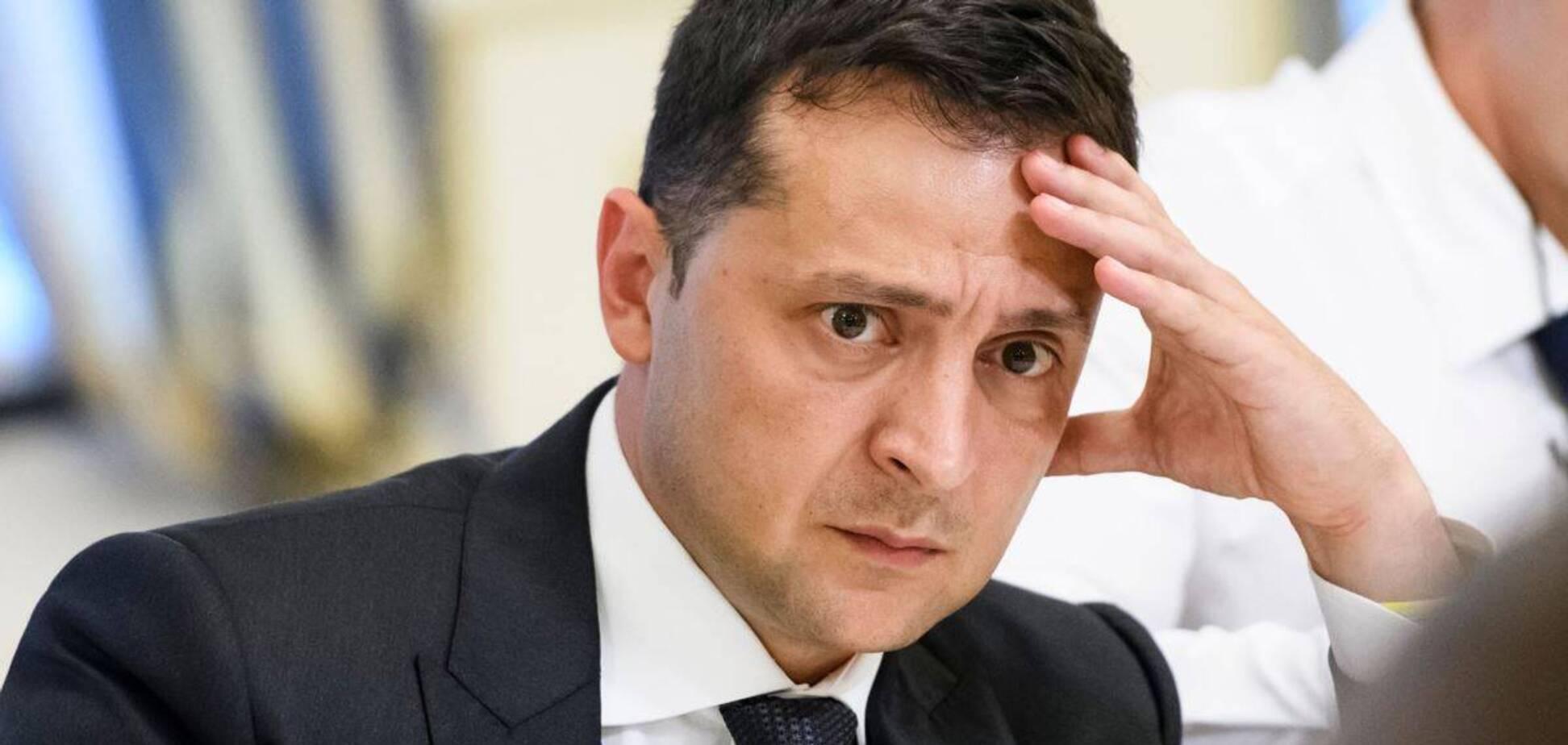 Володимир Зеленський знайшов 'крайнього' у проблемах України
