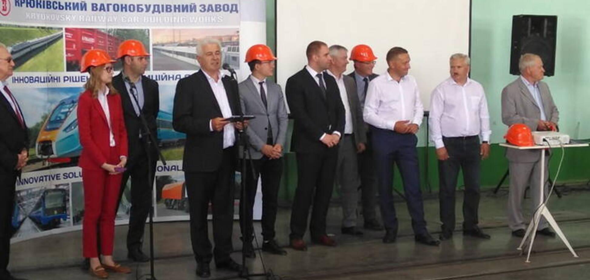 У Кременчуці презентували законопроєкт про підтримку машинобудування (фото: ФРУ)