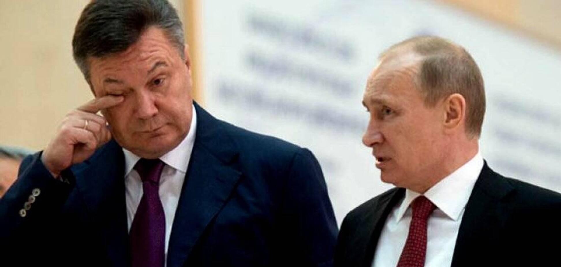 Янукович святкує ювілей: у Путіна висловилися про привітання