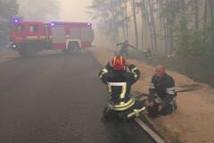Пожары на Луганщине не утихли: спасатели показали, что происходит в зоне бедствия