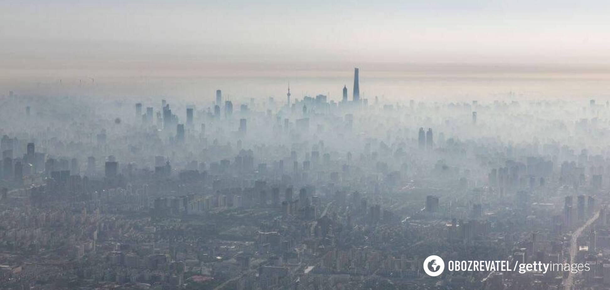 Через хвороби, викликані смогом, в Китаї з початку року померло майже 50 тис осіб