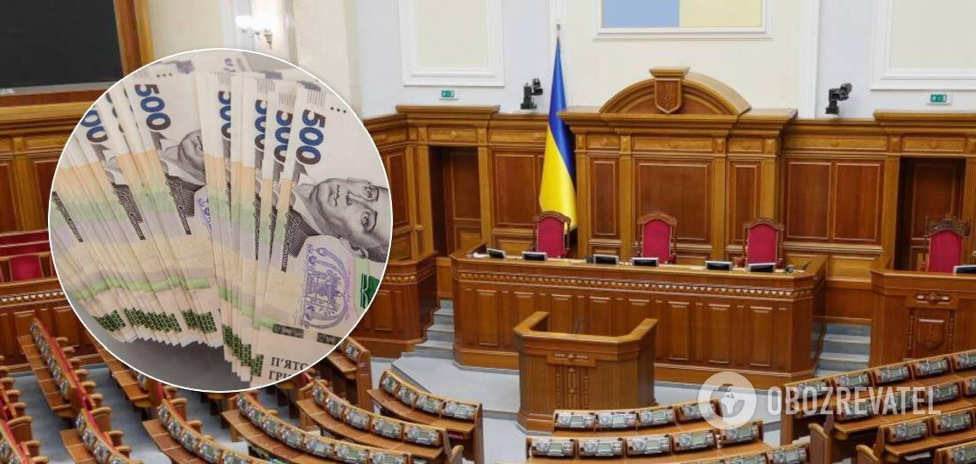 Разумкову и его замам в июне заплатили по 89 тысяч гривен