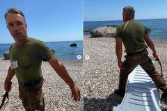 Новости Крымнаша. Кизяки с нагайками атакуют руссо туристо на захваченных пляжах Крыма