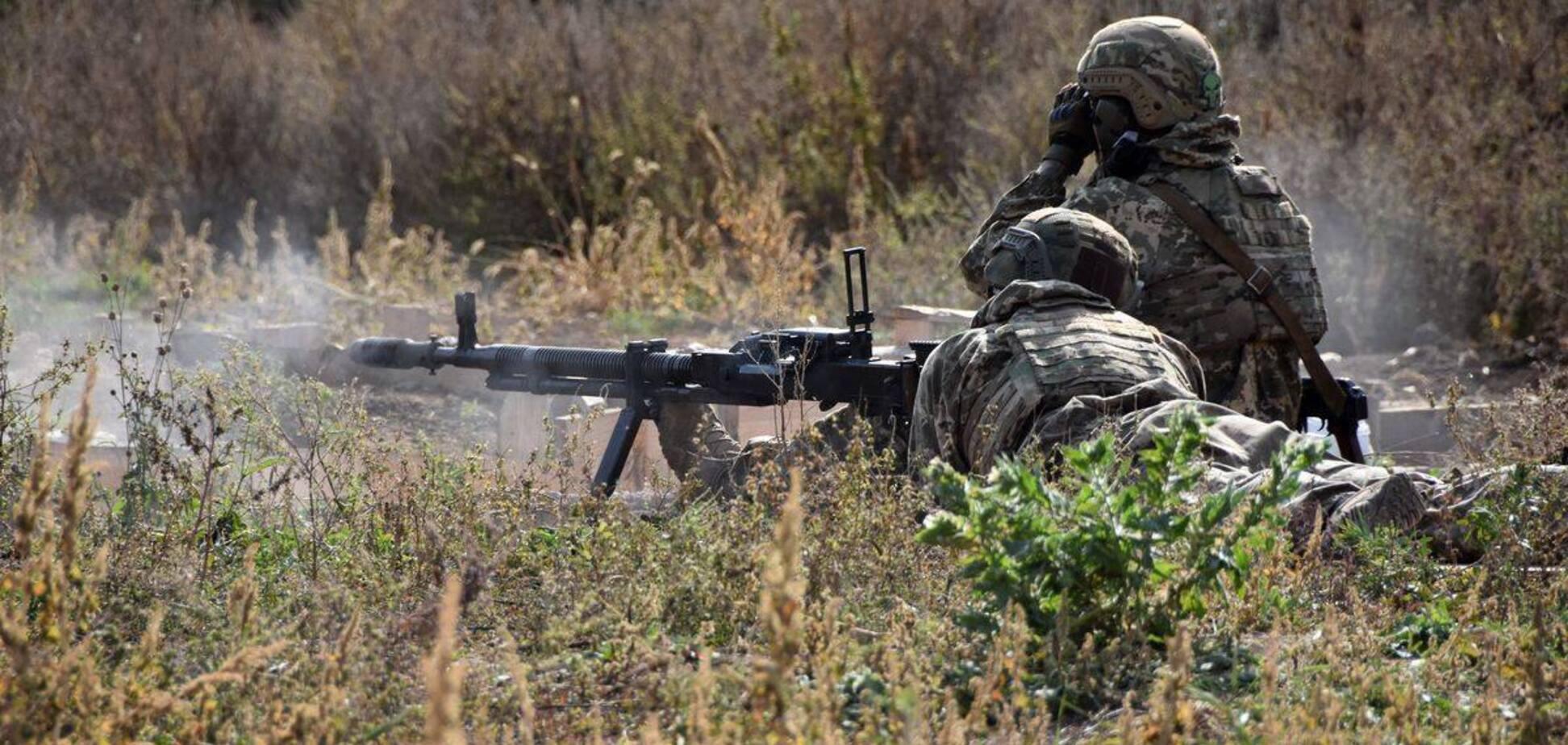 Українські військові вогонь у відповідь не відкривали
