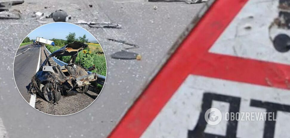 На запорожской трассе произошло ДТП с 4 погибшими