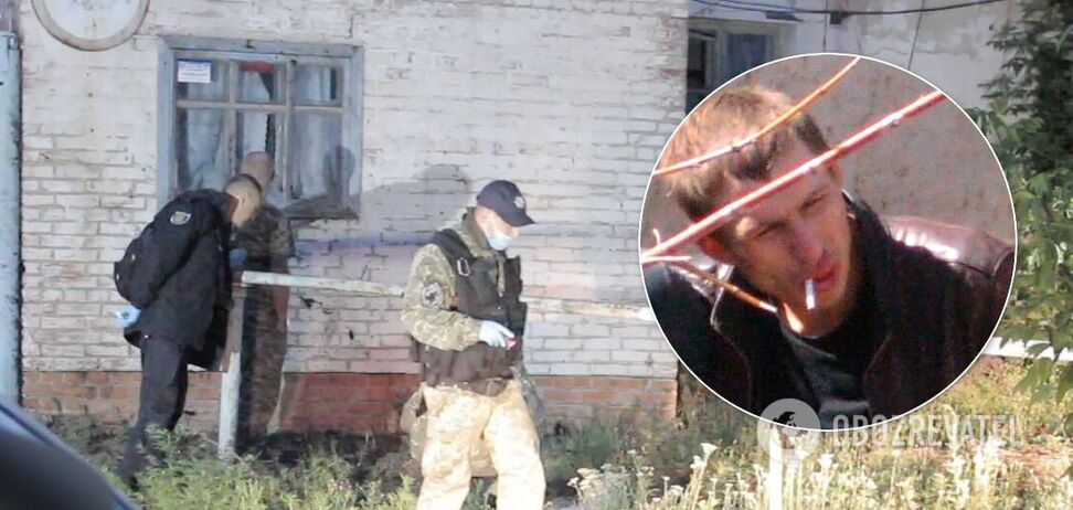 Момент ликвидации 'полтавского террориста' показали на видео
