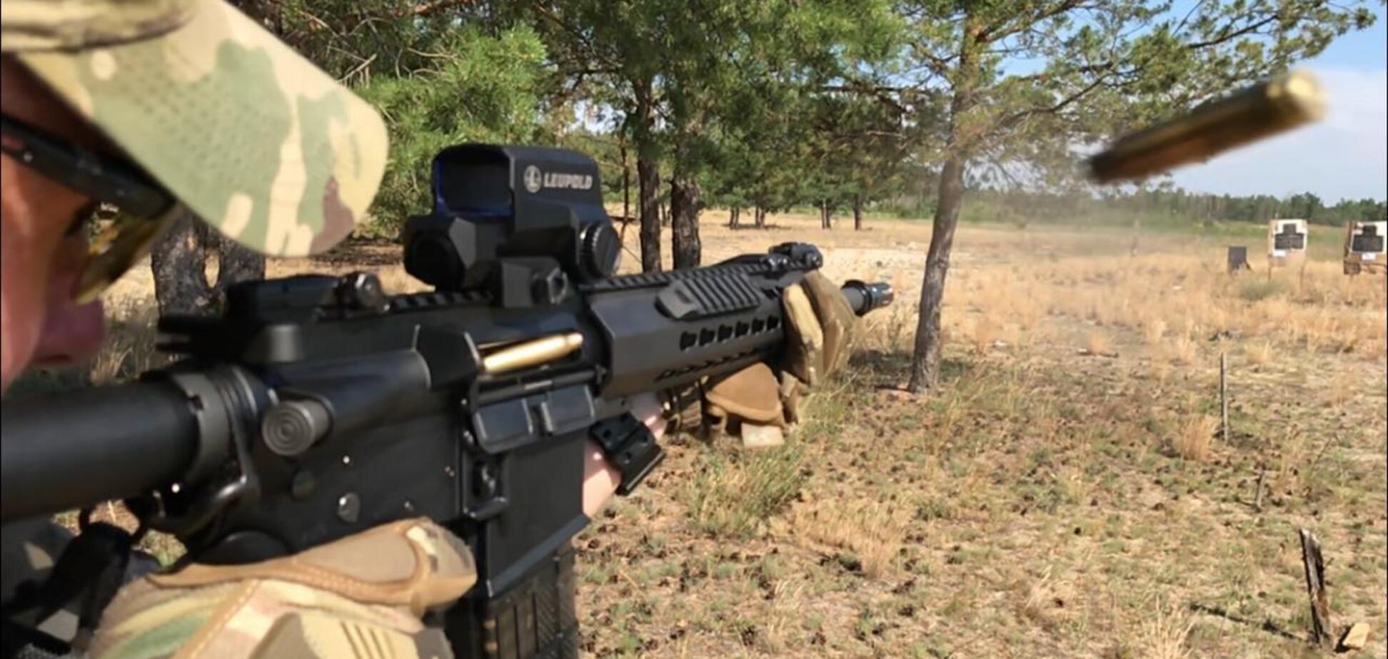 Спецназ погранслужбы получил новые винтовки