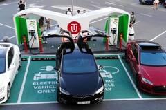 В Украине открыли самую быструю зарядку для электромобилей