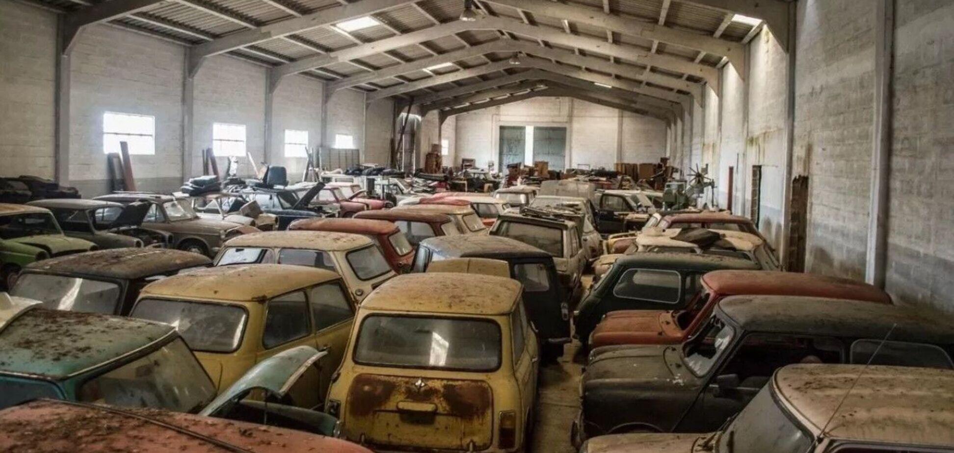 Мінімум 50 автомобілів Mini іржавіють на складі. Фото: carakoom.com