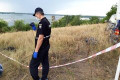 На Киевщине подросток убил 12-летнюю девочку и спрятал тело. Правоохранители на месте событий