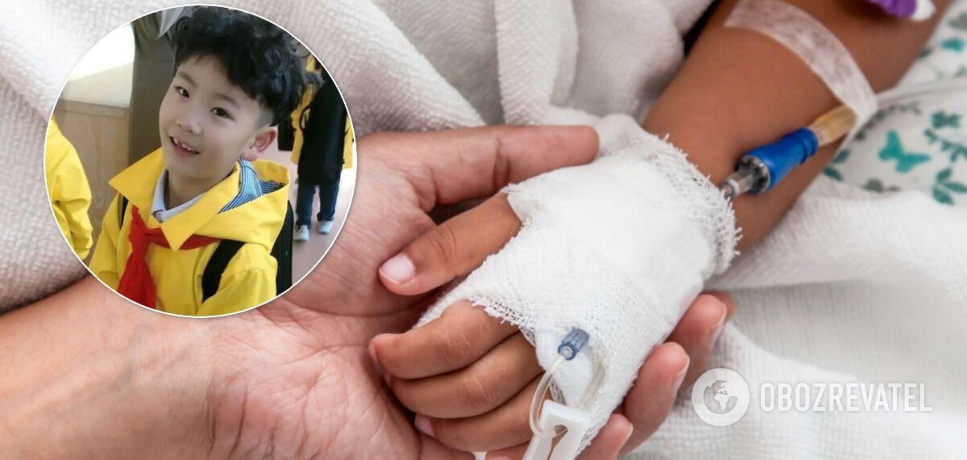 В Китае погибший в ДТП 7-летний мальчик стал донором для шести детей. Щемящая история