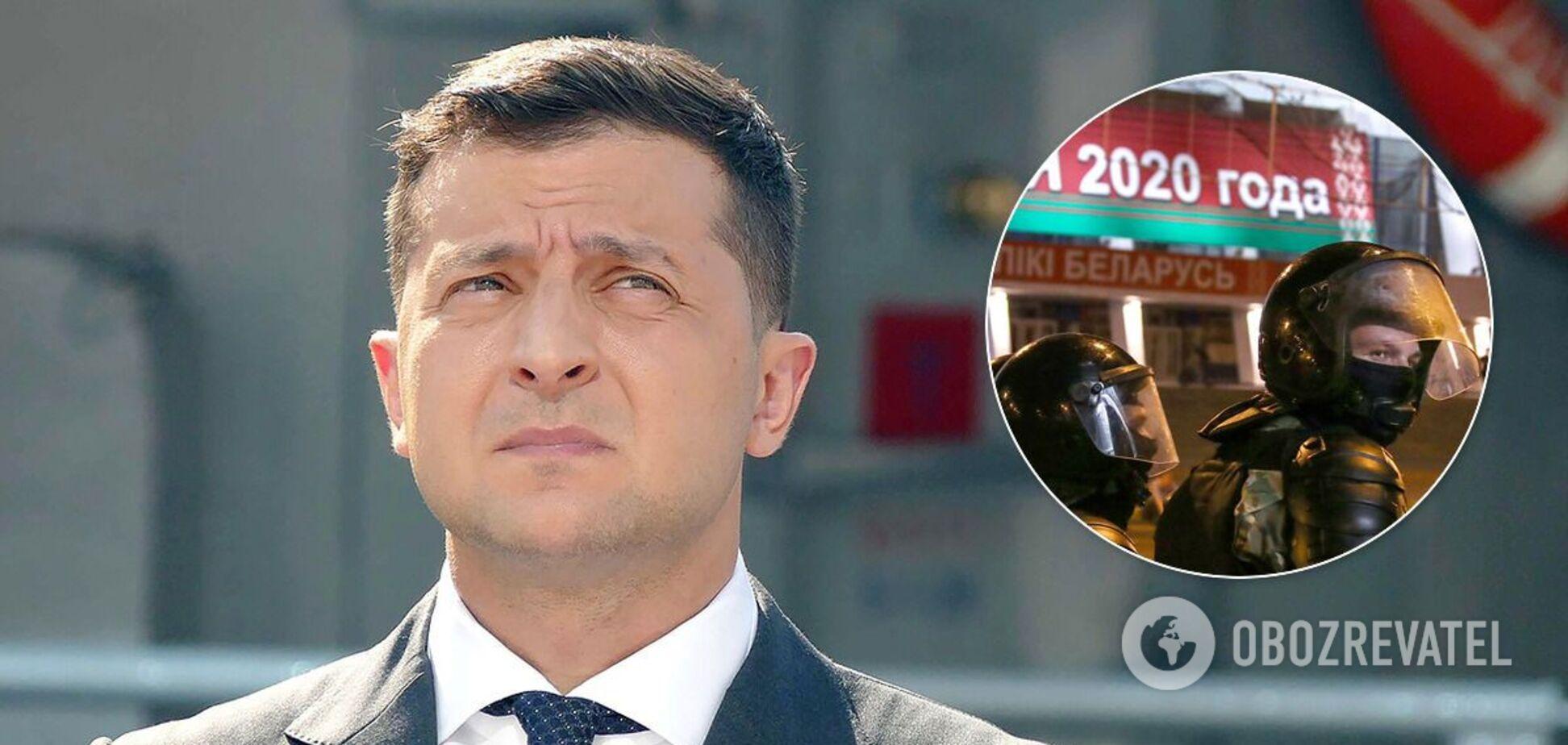 Володимир Зеленський дав поради щодо ситуації в Білорусі