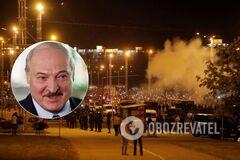 Протесты в Беларуси. Иллюстрация