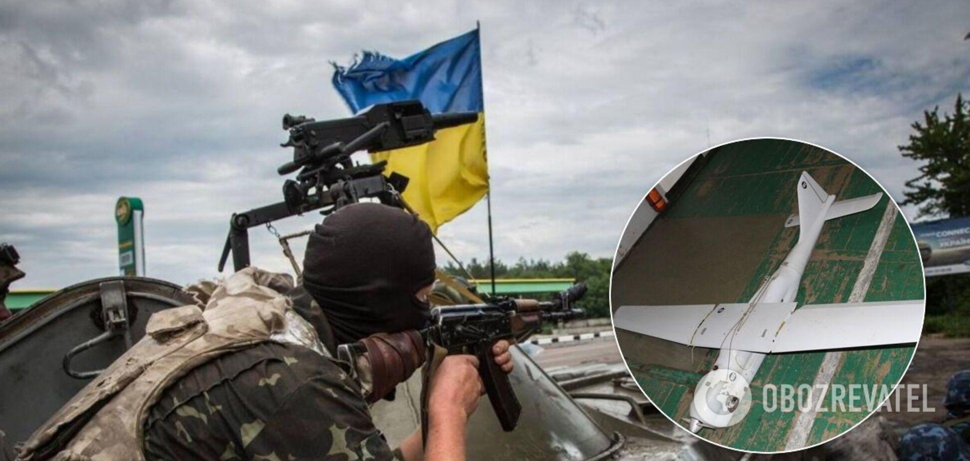 Терористи 'Л/ДНР' влаштували провокацію на Донбасі та запустили безпілотник