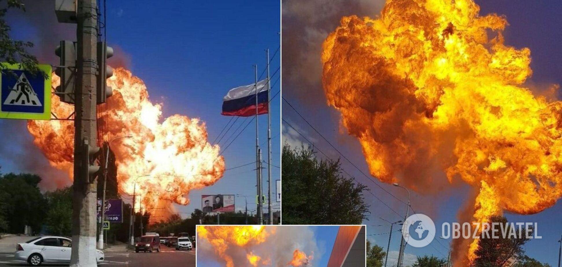 У Волгограді вибухнула газова заправка