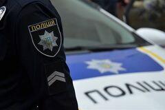 В Киеве незаконно присвоили помещения полиции (фото: delo.ua)