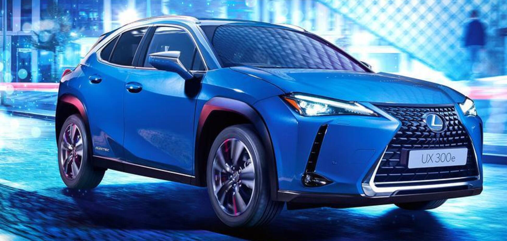 Электрический кроссовер Lexus шокировал своей стоимостью