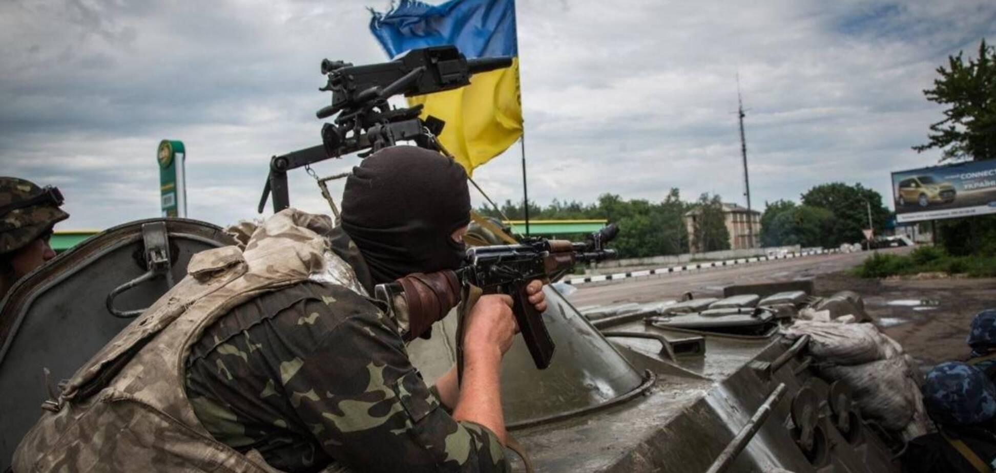 Українські військові розповіли про дії терористів