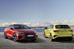 Audi презентовала новые версии S3