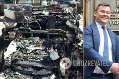 Появились фото сожженной Tesla Богдана: сгорела почти дотла