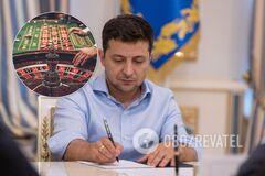 Зеленський підписав закон про казино. Як в Україні легалізували гральний бізнес