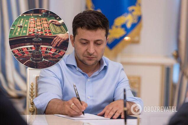 Зеленский подписал закон о казино. Как в Украине легализовали игорный бизнес
