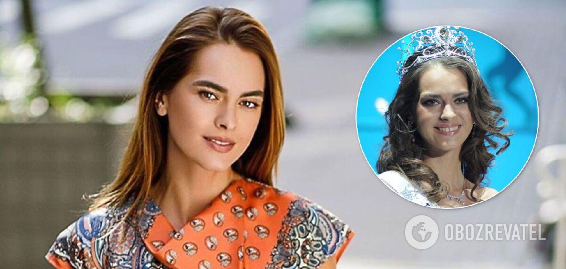 Вице-Мисс Вселенная 2011 из Украины родила первенца