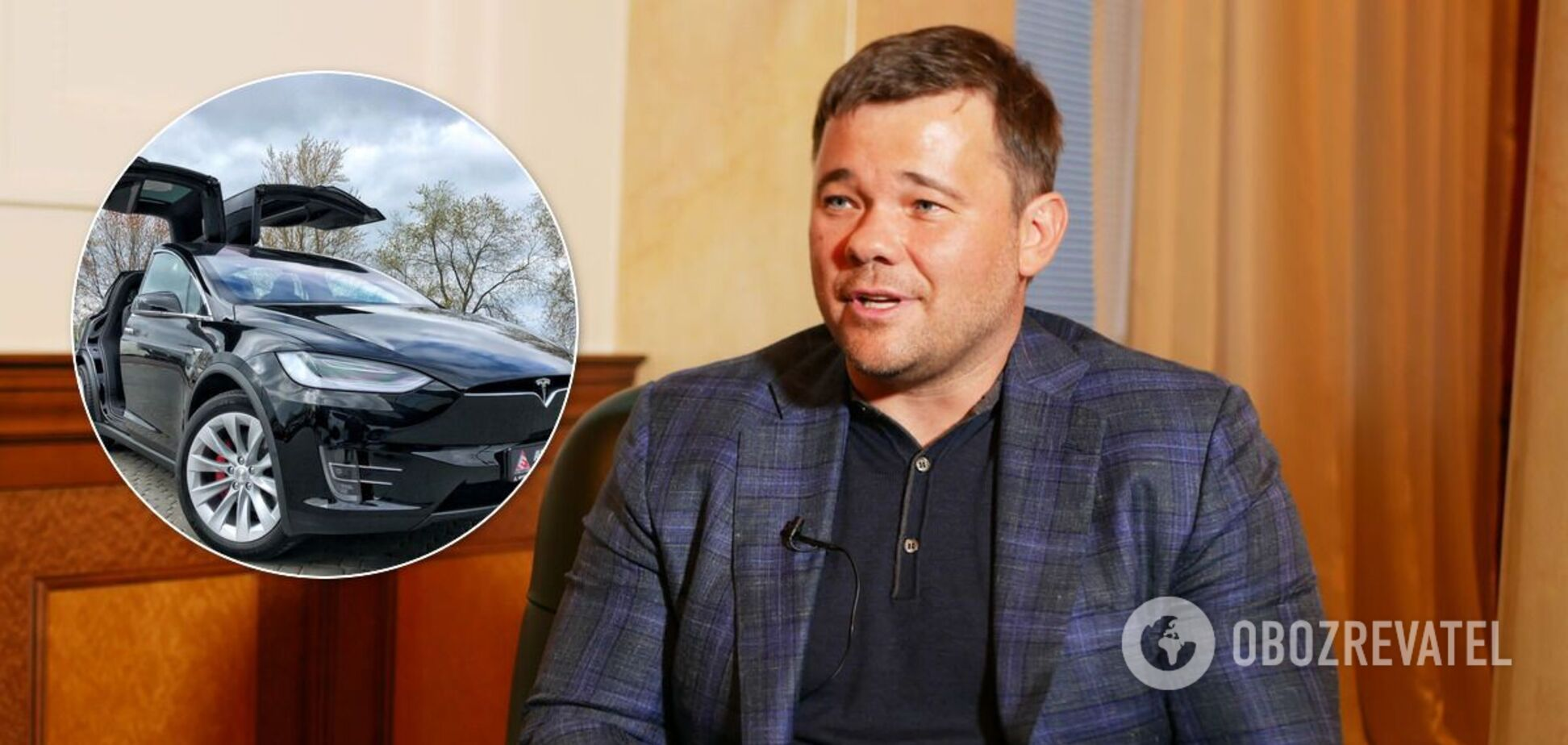 Машину Богдана пытались сжечь в Киеве
