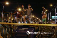 Блогер из Беларуси зафиксировал исторический факт в протестном Минске