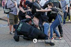 В МВД пожаловались на демонстрантов