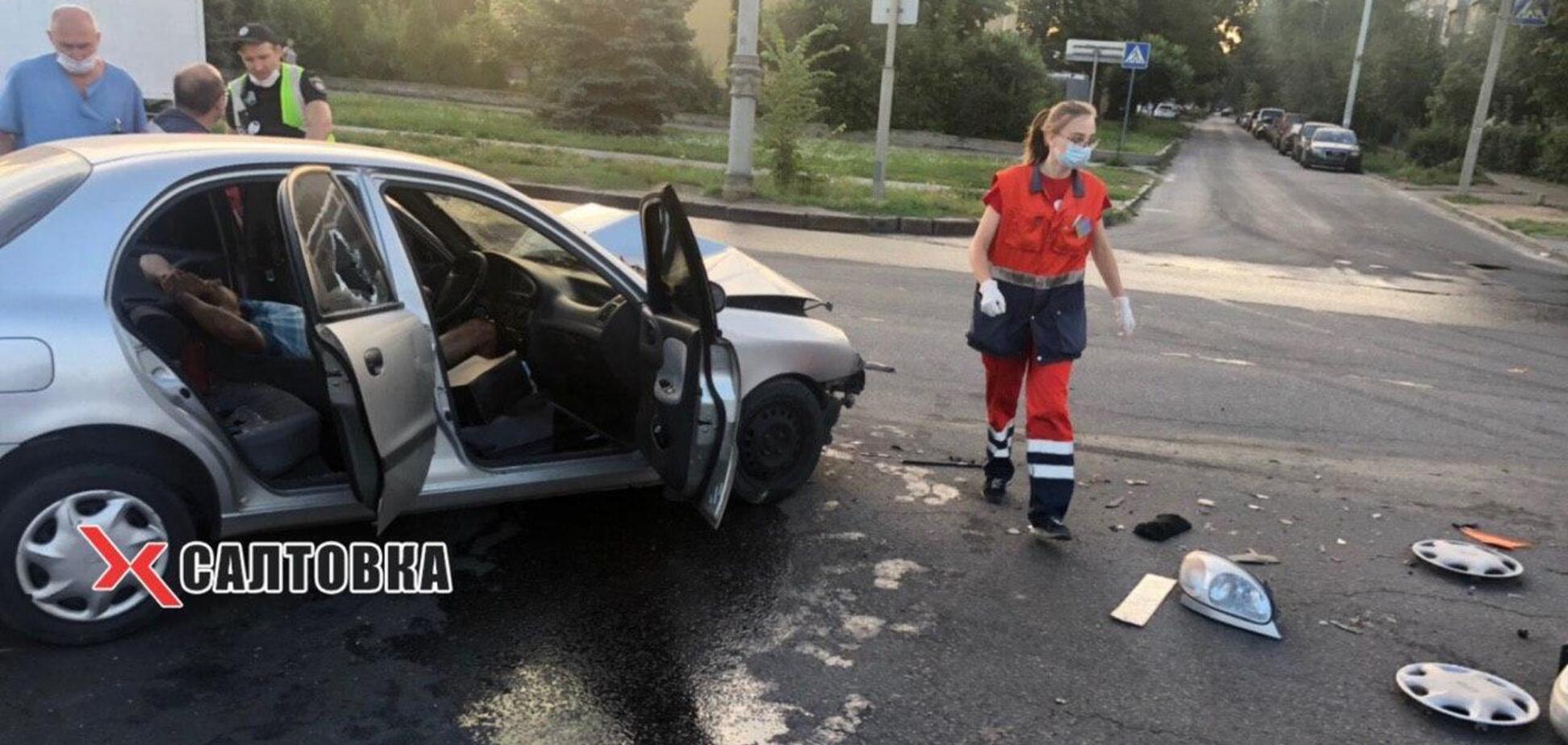 ДТП зі швидкою в Харкові