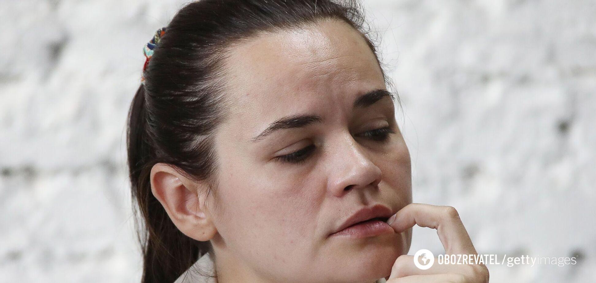 Світлана Тихановська пояснила причину виїзду з Білорусі