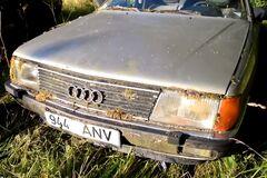 Старую Audi 100 решили вернуть к жизни спустя 16 лет