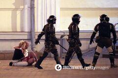 В Беларуси ОМОН жестоко избивал протестующих